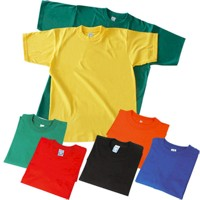 camisetas en colores surtidos