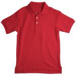Camiseta Tipo Polo Roja